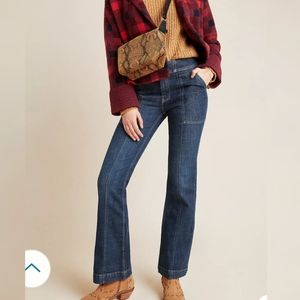 Anthropologie pilcro high rise utility jeans